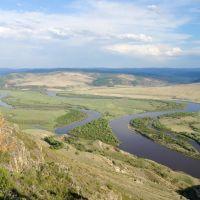 р. Чикой-граница с Монголией, Жиндо