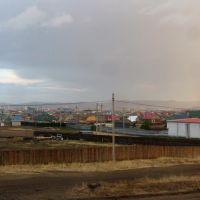 Вид Забайкальска из гостиницы, 06.06.2012, Забайкальск