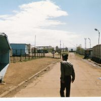 Border crossing into China (I did not pass and I waited five days to train), Забайкальск
