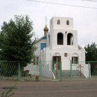 Храм в Забайкальске, июнь 2011, Забайкальск