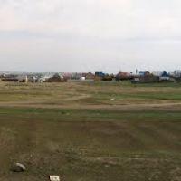 Вид Забайкальска с трассы, июнь 2011, Забайкальск