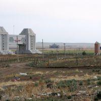 Китайские и Российские ворота на границе, июнь 2011, Забайкальск