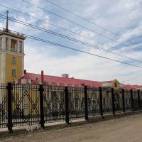 Вокзал со стороны зоны таможенного контроля, Забайкальск, лето 2011, Забайкальск