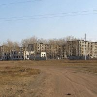 Военный городок в Досатуе - все,что от него осталось., Калга