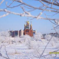 Краснокаменск церковь., Краснокаменск