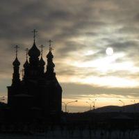 Серый день, Краснокаменск