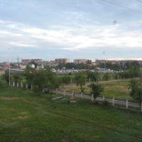 Вид с Восточного микрорайона, Краснокаменск