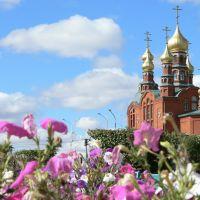Храм осенью, Краснокаменск