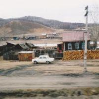 モゴチャ、シベリア鉄道 Trans-Siberia Railway, Russia 1993, Могоча