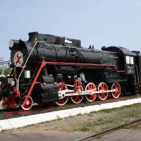Паровоз-памятник Л-3014, Могоча