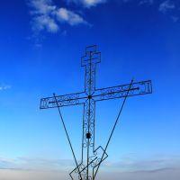 Крест на горе Майка. г.Могоча, Могоча