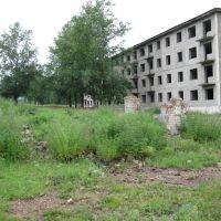 КПП и четырехэтажка, Нерчинский Завод