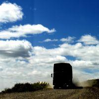BLACK TRUCK - чёрный фургон, Нижний Часучей