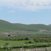 Новый мост через р.Онон(22.VII.2011    18:20), Нижний Часучей