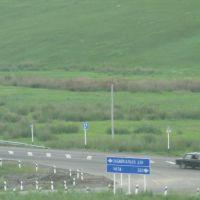 Стык трасс(старой и новой  23.VII.2011), Нижний Часучей