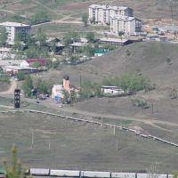 Въезд в Соцгород, Петровск-Забайкальский