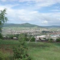 Вид с подножия сопки Лунёва, Петровск-Забайкальский