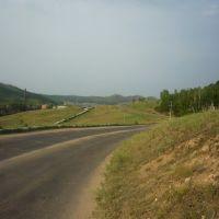 Дорога в Соцгород с улицы Лебедева, Петровск-Забайкальский