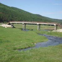 Пешеходный мост через Балягинку, Петровск-Забайкальский