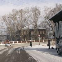 начало ул. Лебедева, Петровск-Забайкальский