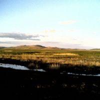 Chitinskaya Obl. Priargunsk.This Chinese mountains, Приаргунск