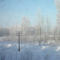 забайкальская природа,зима, Тупик