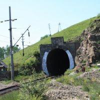 Артеушинский тоннель (120м) 6855км Транссиба, Тупик