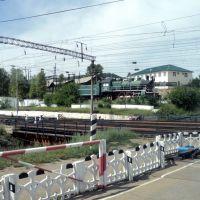 трудяга паровоз на пенсии  worker locomotive on pensions, Хилок
