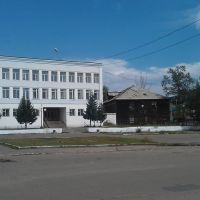 Центральная площадь города (Сentral square), Хилок