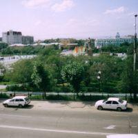 """Чита.Вид на площадь с гостиницы """"Забайкалье"""", Чита"""