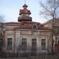Дворец архитектора Никитина, Чита