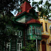 Дома М. Д. Игнатьевой, ул. Анохина, 53, 55, Чита