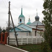 Иоанна Воина и Крестовоздвиженская церкви, Алатырь