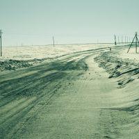 Зимная дорога., Аликово