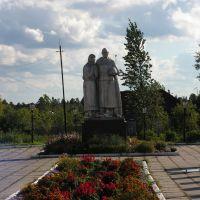 Вурнары, памятник Воину-освободителю, 2006 г., Вурнары