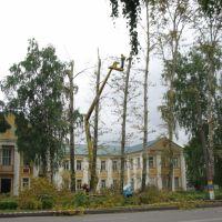 Возле медучилища, Канаш
