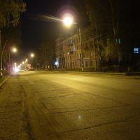 Проспект ночью, Канаш