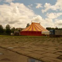 Цирк на площади, Канаш