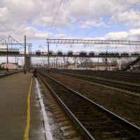 Railway yard, Kanash, Канаш