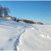 Волга. Большой снег., Мариинский Посад