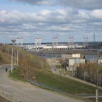 Чебоксарская ГЭС  /  Cheboksary HPS, Новочебоксарск