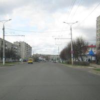 Улица Винокурова (Вид на юго-запад)  /  Vinokurov Street (View on south-west), Новочебоксарск