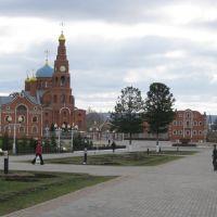 Владимирский сквер  /  Vladimirsky Square, Новочебоксарск