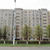 вид из Рощи на наш дом, Новочебоксарск