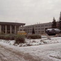 Дом пионеров в ноябре, Новочебоксарск