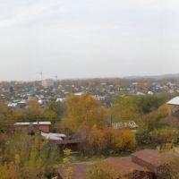 вид с Президентского бульвара_2, Чебоксары