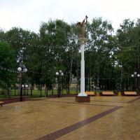 """Памятник """"Ангел мира"""" / Monument """"the Angel of peace"""" (04/07/2008), Чебоксары"""