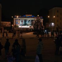 "Вид на кинотеатр ""Мир-Луксор"" / View of the Mir-Luksor cinema theatre (30/12/2008), Чебоксары"