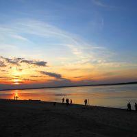 река Волга, Чебоксары