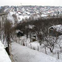 вид с Гагаринского моста, Чебоксары